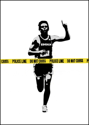 "Dolk - ""Police Line"" (canvas)"