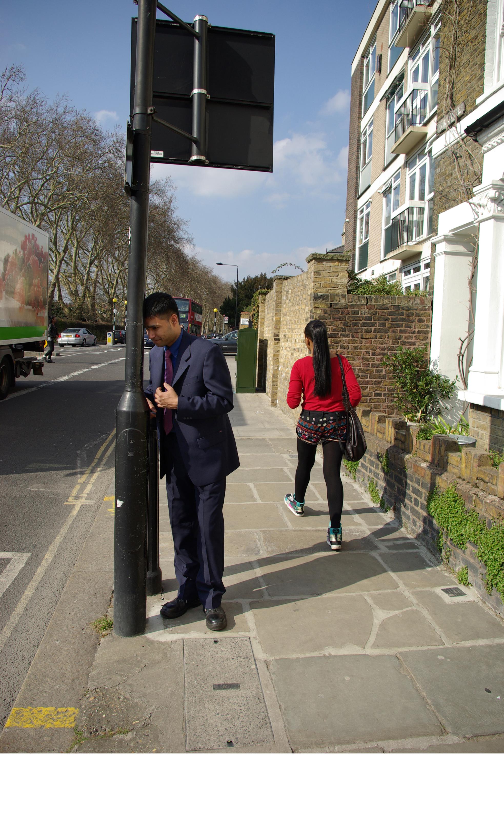 3 - Lamp Post 2013, London UK, C Print