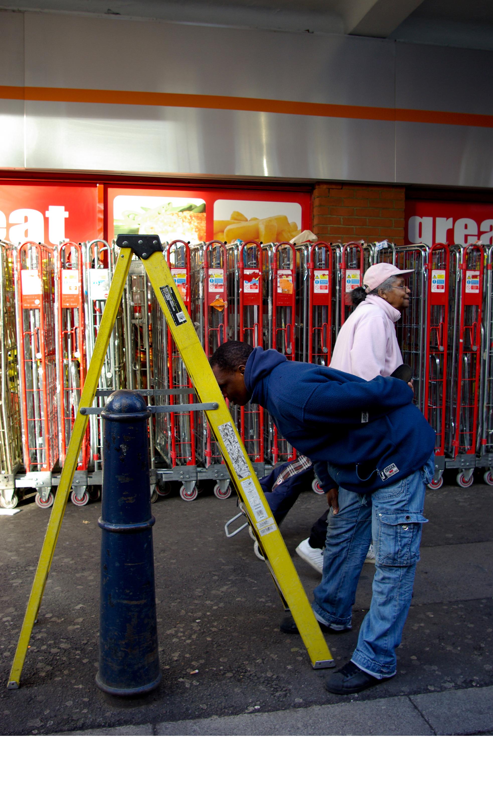 10 - Ladder 2013, London UK, C Print