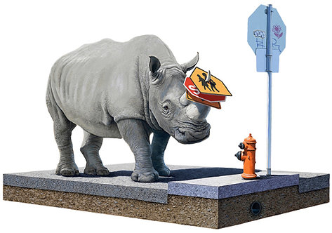 "Josh Keyes - ""The Collector"""