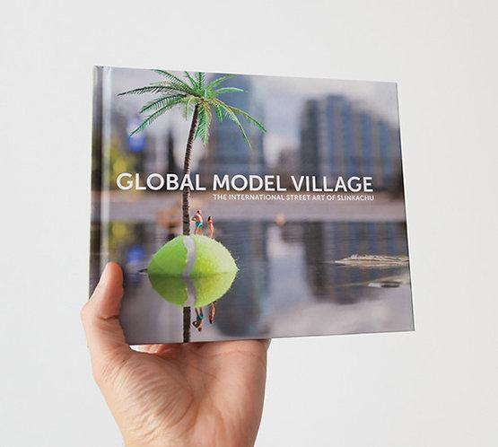 "Slinkachu - ""Global Model Village"" & Badge Set"