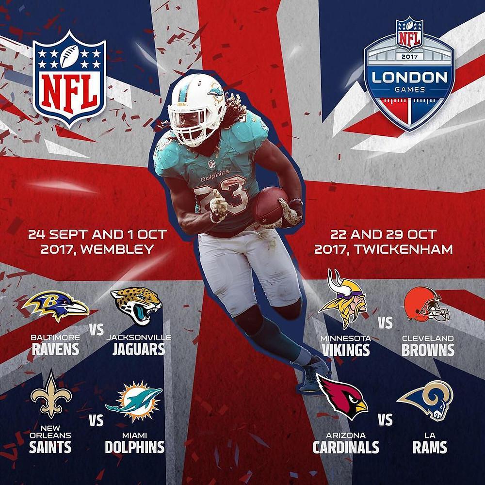 NFL in the UK schedule