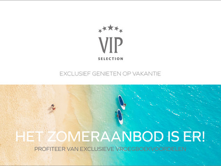 VIP Selection: zomerlancering 2020