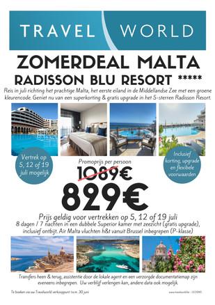Promotie Malta - Radisson BLU Resort St