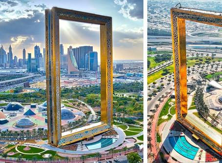 Dubai opent gigantische... schilderslijst!