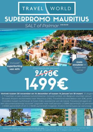 Promotie Mauritius - SALT of Palmar-page