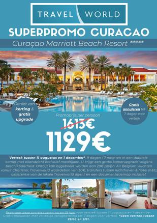 Promotie Curaçao - Curaçao Marriott Beac