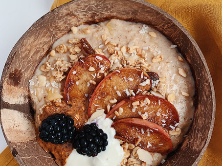 An Autumnal Apple Pie Porridge