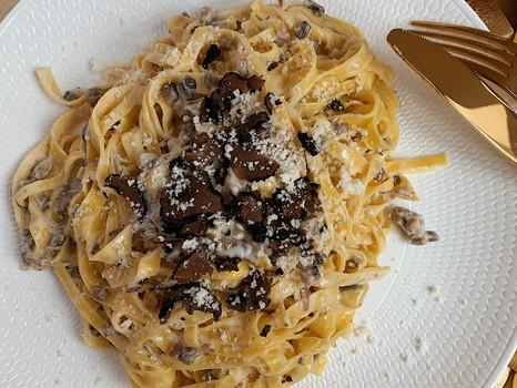 Creamy Truffle Fettuccine