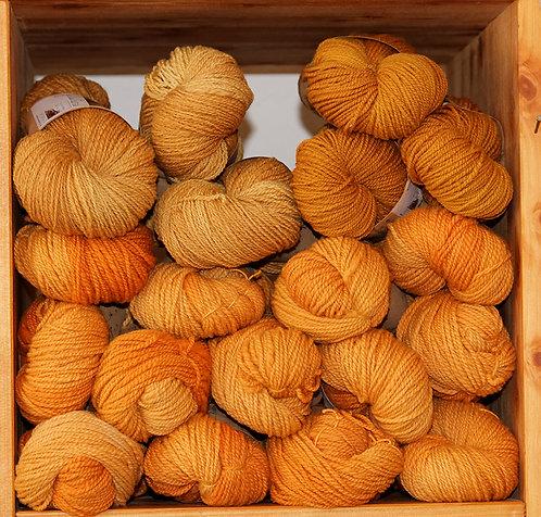Echeveaux teints - Nuances de jaunes