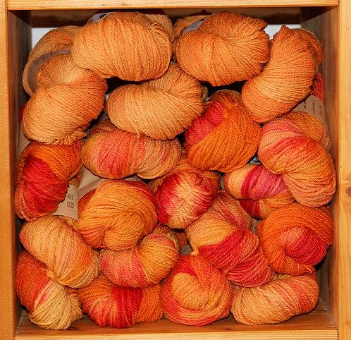 Echeveaux teints - Nuances d'oranges