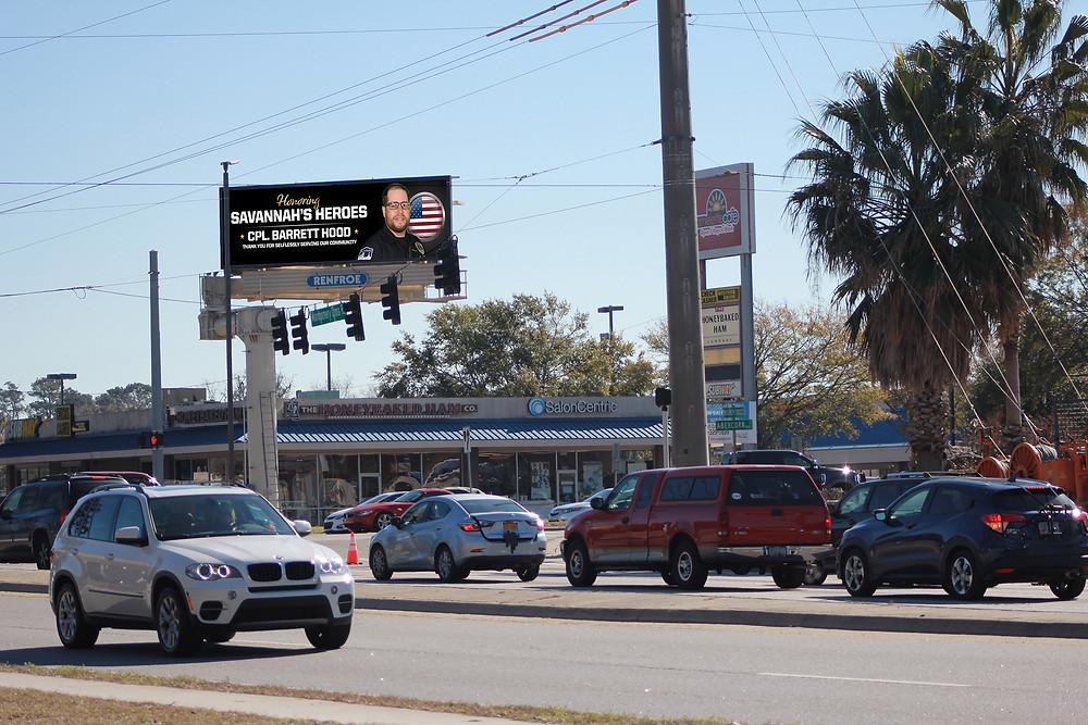 Vertical Digital Billboard