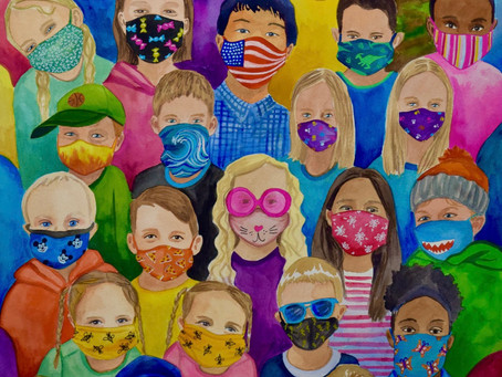 2020 Vision by Lori Ehlke | Happy to See Their Faces