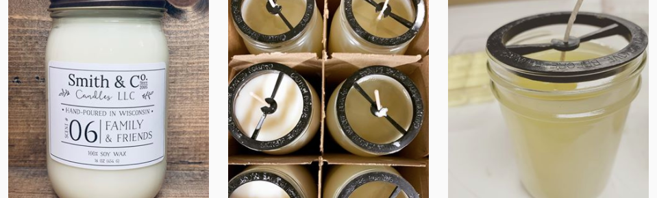 Smith and Co Candles from Eau Claire Wisconsin