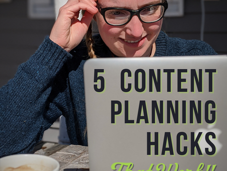 5 Planning Hacks that WORK