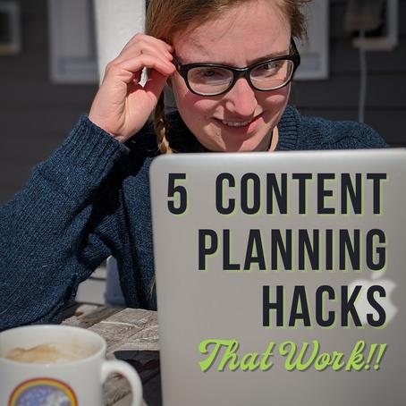 5 Planning Hacks that WORK