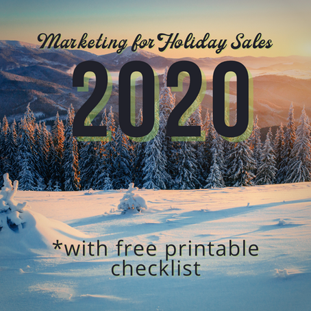 Marketing for Holiday Sales in 2020
