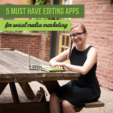 5 Must-Have Editing Apps for Social Media Marketing
