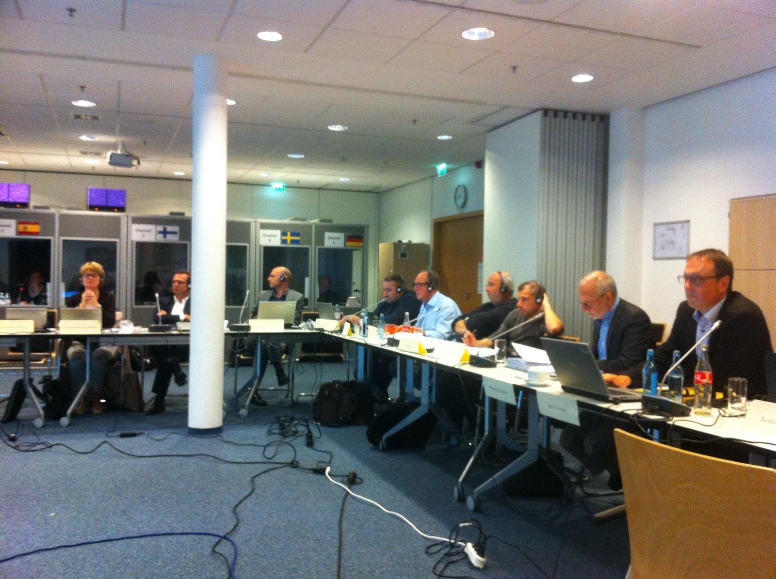 Reunión Comité Europeo