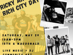 This Weekend: Ricky Antonio Rich City Day