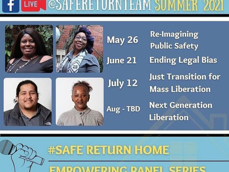 Safe Return Home's Summer Series
