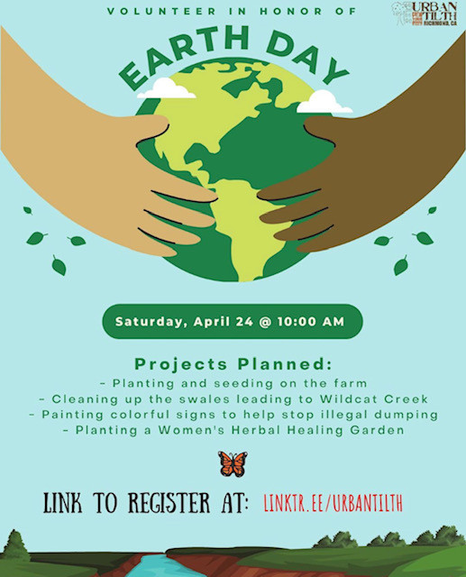 Volunteer for Earth Day on April 24th with Urban Tilth