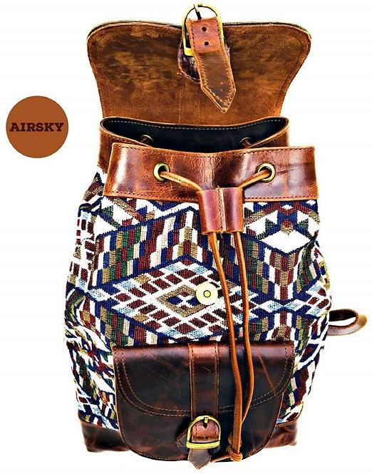 Leather Back Bag