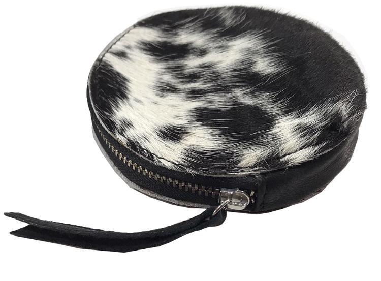 Hair On Round Bag