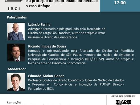Laércio Farina palestrou no Webinar que discutiu o caso Anfape