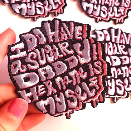 'Sugar Daddy' Bad Attitude Iron On Patch!