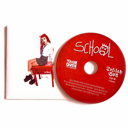 'School' Limited Edition Single CD