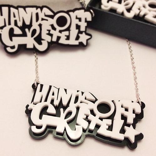 Handmade Logo Necklace