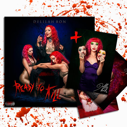 'Ready To Kill' Signed EP + X3 Photograph Bundle