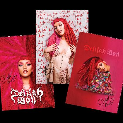 x3 Album Poster Bundle