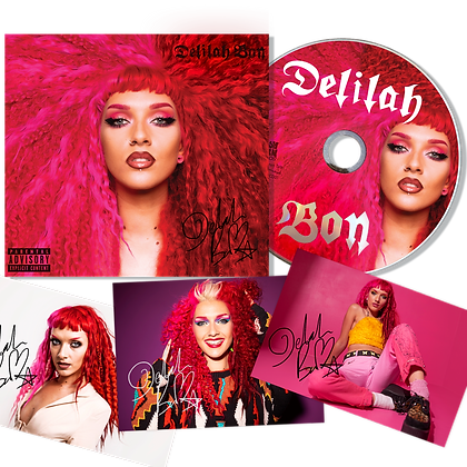 Signed CD & Photograph Bundle