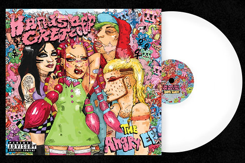 """'The Angry EP' 10"""" Limited Edition White Vinyl"""