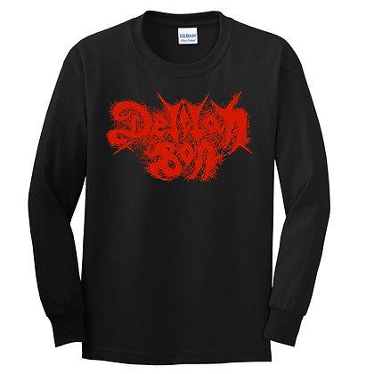 Long Sleeve 'Delilah Bon' Metal Logo Unisex T-shirt