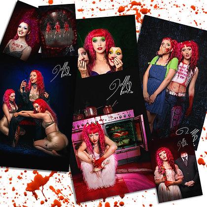Signed 'Ready To Kill' Themed Art Prints