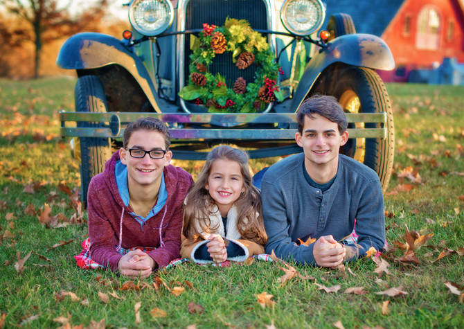 Family Photo Session - Branchburg, NJ