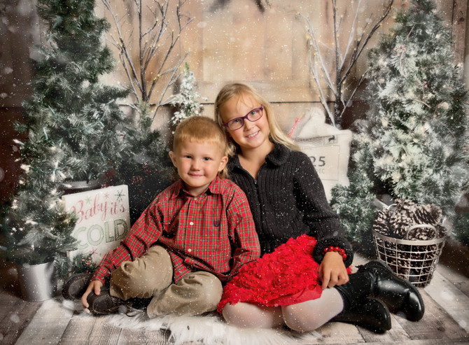 Christmas Mini Photo Session in Bridgewater, NJ