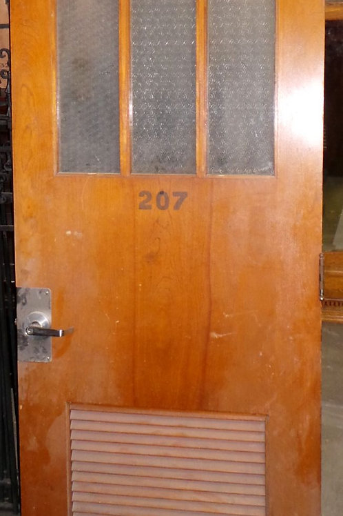 Door with 3 Glass Panels