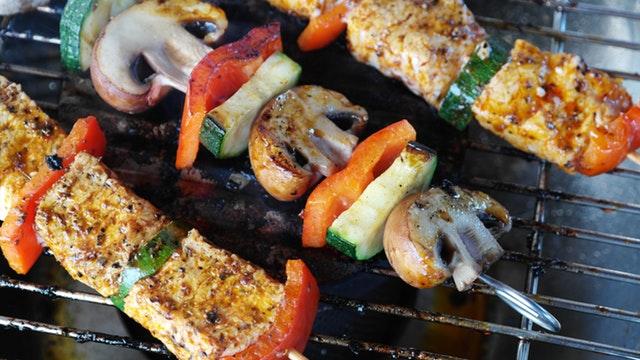KORKO's Vegetarian Suya Kebab