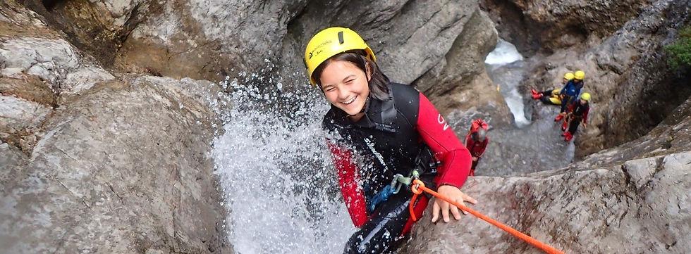 Canyoning in Tirol - unsere Touren