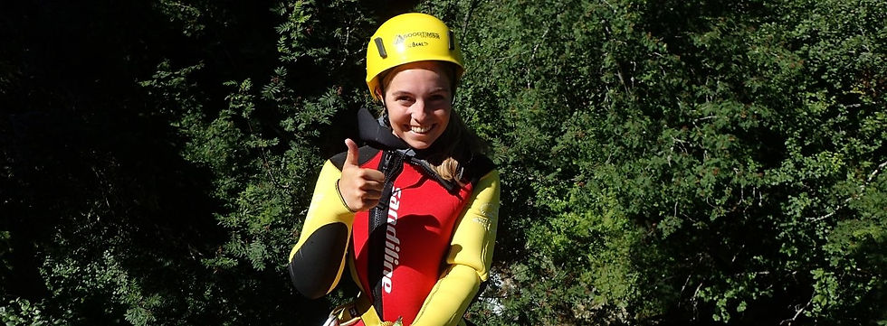 Canyoning in den Alpen mit GOODTIMES