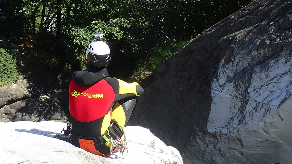 Canyoning Ötztal Tirol