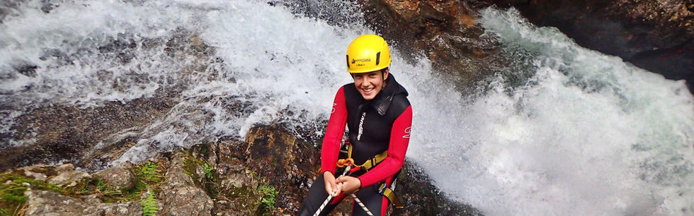 Canyoning Einsteiger Ötztal Tirol