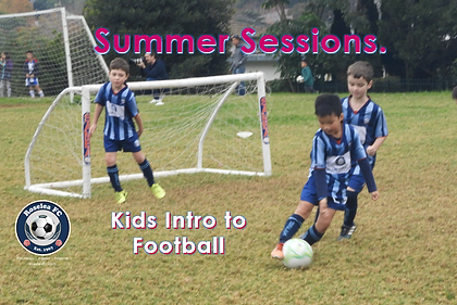 Summer Sessions - Kids intro to football