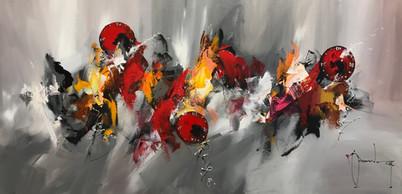 Christof MONNIN Acrylique sur toile
