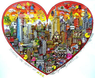 CHARLES FAZZINO Invading the heart of NY