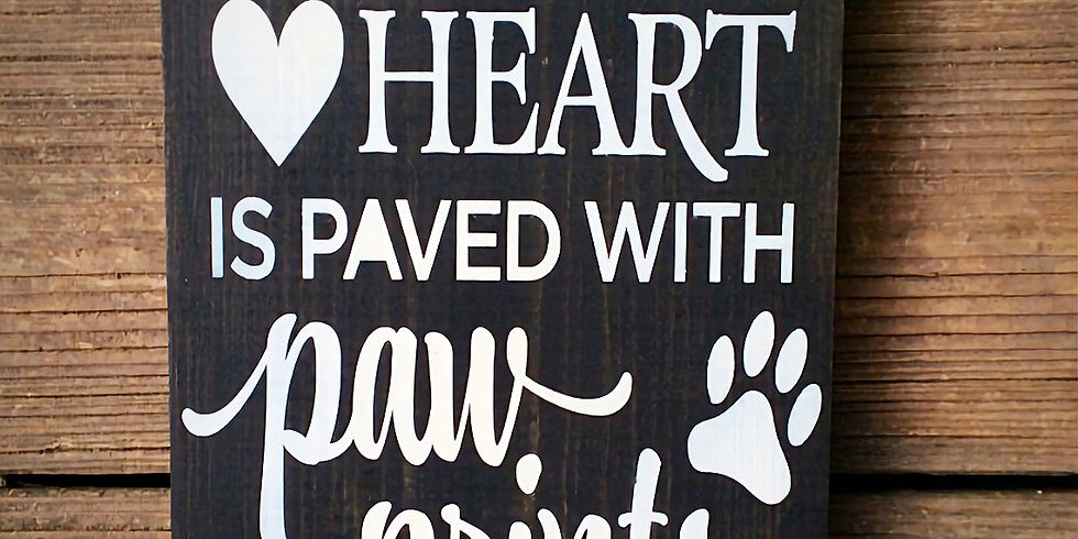 It's a Wood Sign Pawty